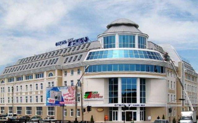 Гостиница 7 Небо в Астрахани 2 отзыва об отеле, цены и фото номеров - забронировать гостиницу 7 Небо онлайн Астрахань вид на фасад
