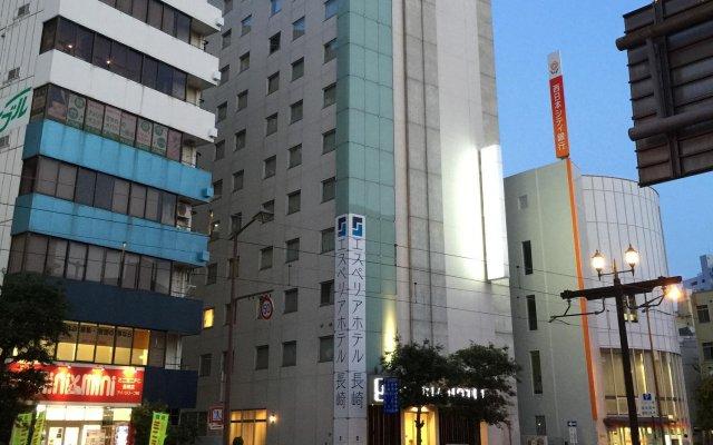 S Peria Hotel Nagasaki Нагасаки вид на фасад
