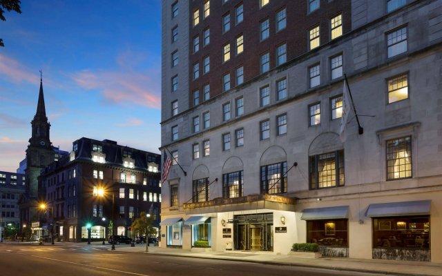 Отель Taj Boston вид на фасад