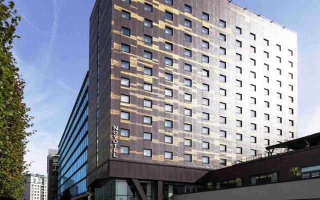 Отель Novotel London Paddington вид на фасад