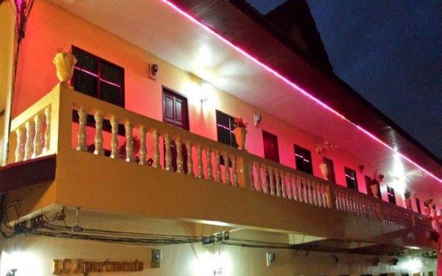 Апартаменты LC Apartments Pattaya Паттайя вид на фасад