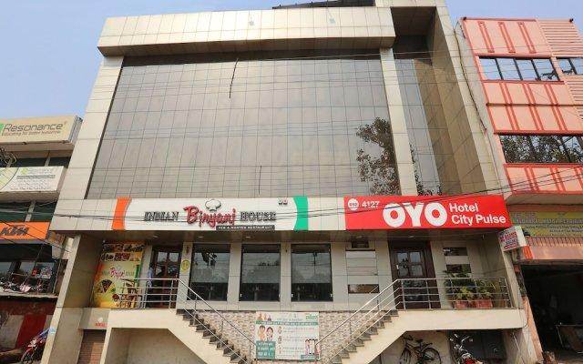 Отель OYO 4127 Hotel City Pulse Индия, Райпур - отзывы, цены и фото номеров - забронировать отель OYO 4127 Hotel City Pulse онлайн вид на фасад
