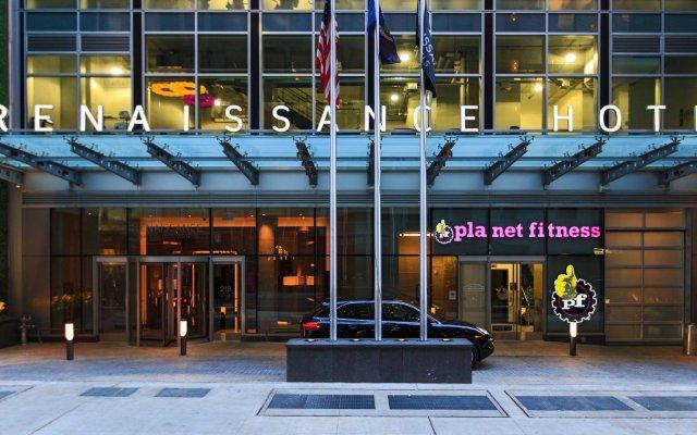 Отель Renaissance New York Midtown Hotel США, Нью-Йорк - отзывы, цены и фото номеров - забронировать отель Renaissance New York Midtown Hotel онлайн вид на фасад