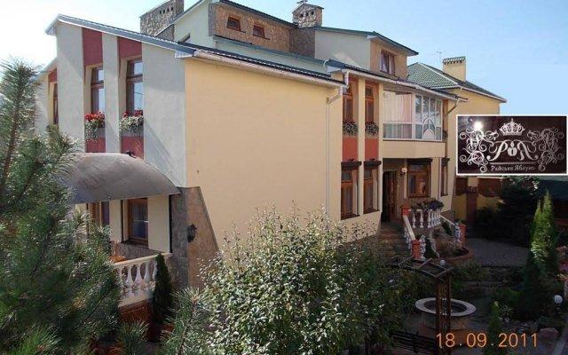 Гостиница Райское Яблоко вид на фасад