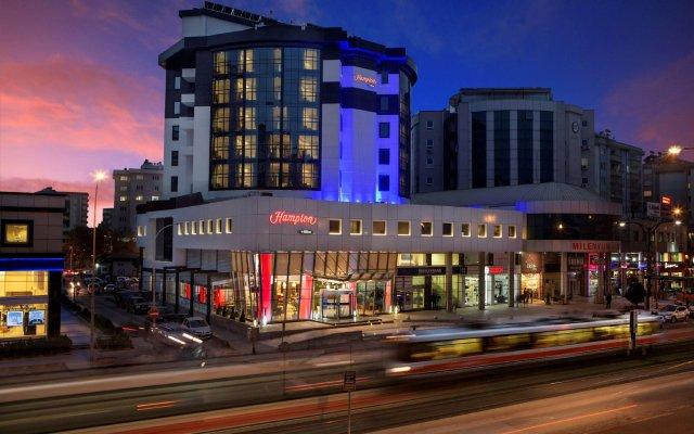 Hampton By Hilton Gaziantep City Centre Турция, Газиантеп - отзывы, цены и фото номеров - забронировать отель Hampton By Hilton Gaziantep City Centre онлайн вид на фасад