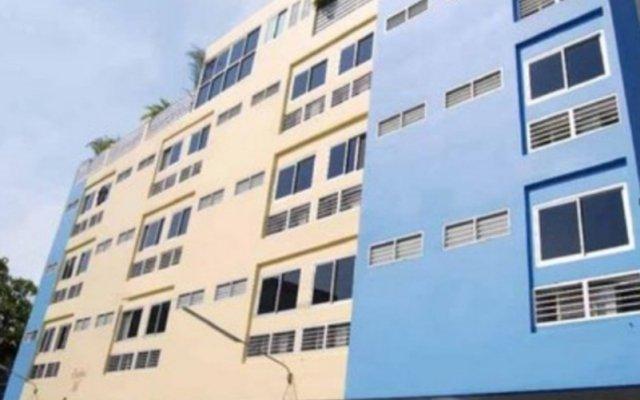 Отель Baan Pathum Apartment Таиланд, Бангкок - отзывы, цены и фото номеров - забронировать отель Baan Pathum Apartment онлайн вид на фасад