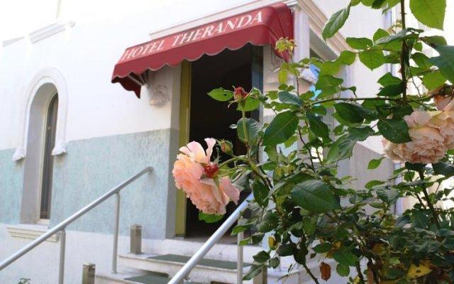 Отель Theranda Албания, Тирана - отзывы, цены и фото номеров - забронировать отель Theranda онлайн вид на фасад