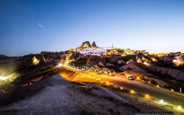 Cappadocia Cave Resort&Spa Турция, Учисар - отзывы, цены и фото номеров - забронировать отель Cappadocia Cave Resort&Spa онлайн вид на фасад