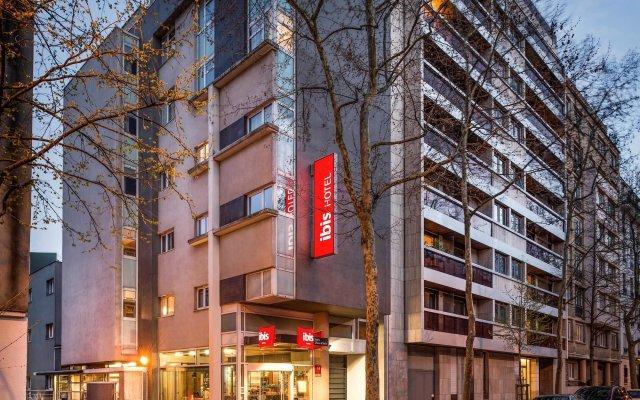Отель ibis Paris Place d'Italie 13ème вид на фасад