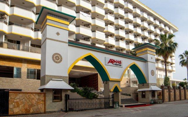 Отель Armas Prestige - All Inclusive вид на фасад