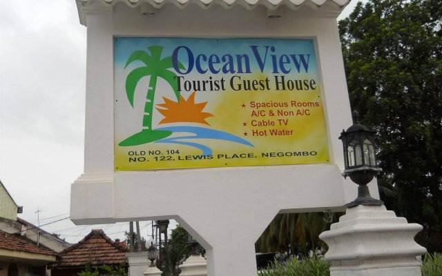 Отель Ocean View Guesthouse вид на фасад