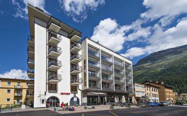 Отель Piz Швейцария, Санкт-Мориц - отзывы, цены и фото номеров - забронировать отель Piz онлайн вид на фасад