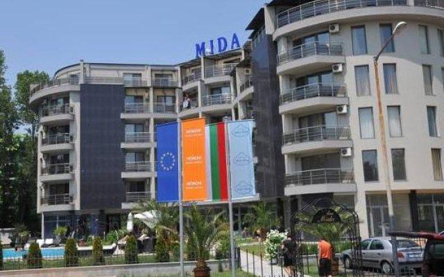 Отель Apart Hotel MIDA Болгария, Солнечный берег - отзывы, цены и фото номеров - забронировать отель Apart Hotel MIDA онлайн вид на фасад