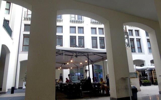 Отель Suite Quaroni вид на фасад