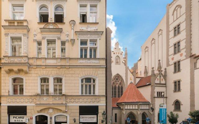 Отель Mordecai Twelve Чехия, Прага - отзывы, цены и фото номеров - забронировать отель Mordecai Twelve онлайн вид на фасад
