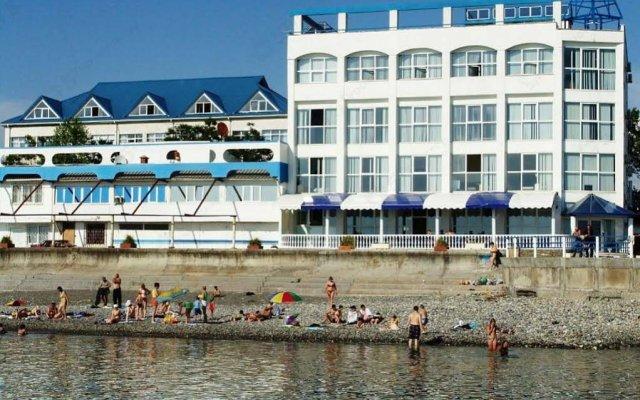 Гостиница Каисса вид на фасад