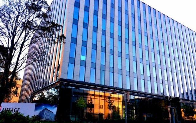 Отель Business Lux Apartment Польша, Варшава - отзывы, цены и фото номеров - забронировать отель Business Lux Apartment онлайн вид на фасад