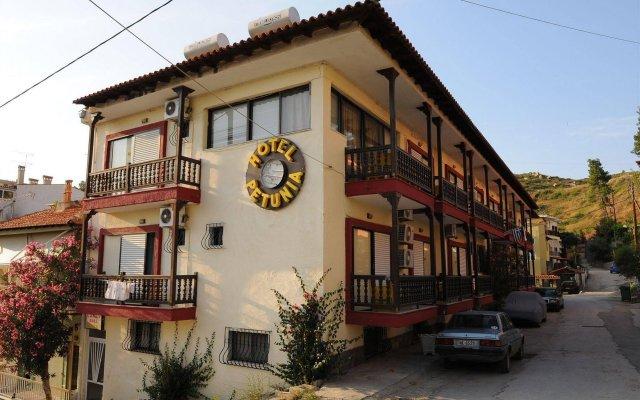 Hotel Petunia вид на фасад