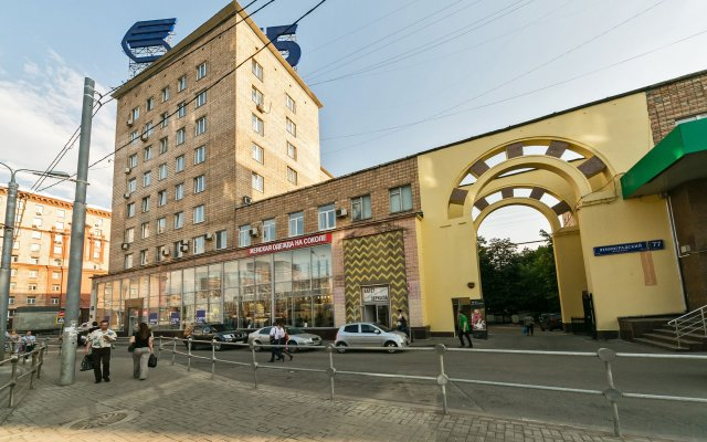 Гостиница MaxRealty24 Leningradskiy prospekt 77 вид на фасад