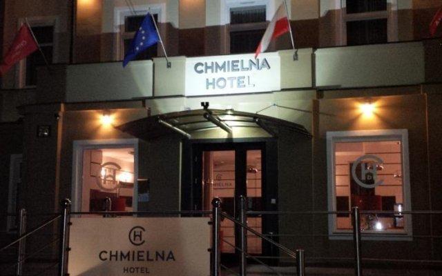 Отель CHMIELNA Варшава вид на фасад