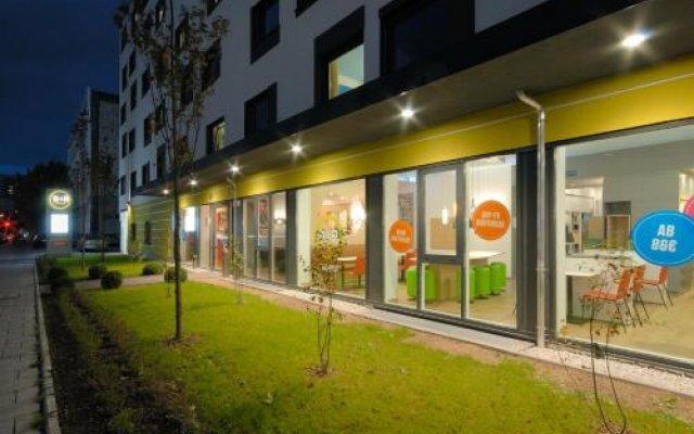 B&b Hotel München City-west Мюнхен вид на фасад