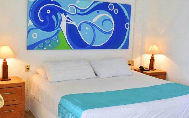Emperador Hotel & Suites Пуэрто-Вальярта вид на фасад