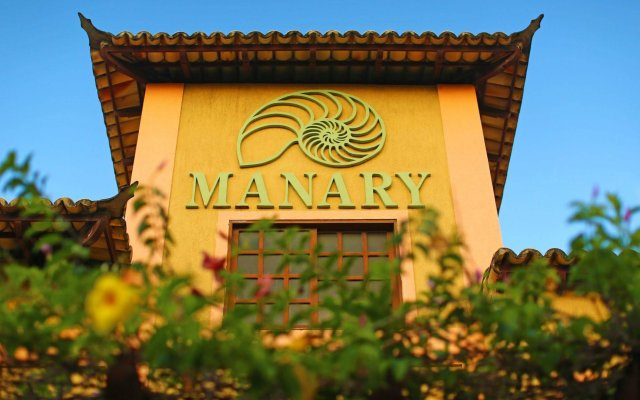 Manary Praia Hotel вид на фасад