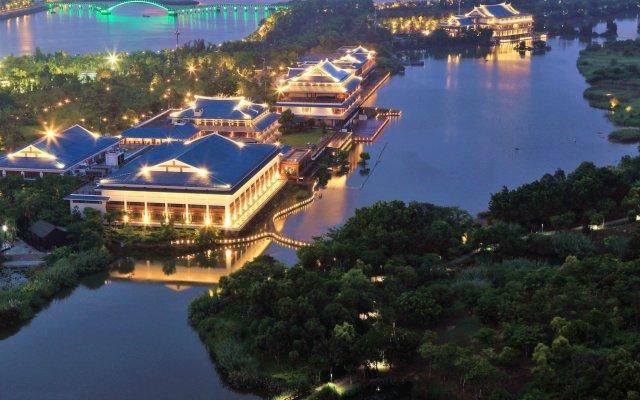 Отель Xiamen Aqua Resort вид на фасад