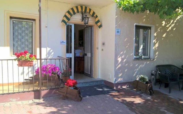 Отель Albergo Mancuso del Voison Аоста вид на фасад