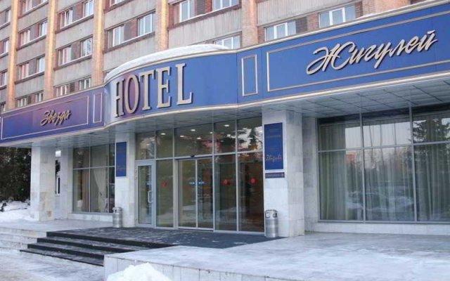 Гостиничный комплекс Звезда Жигулей вид на фасад