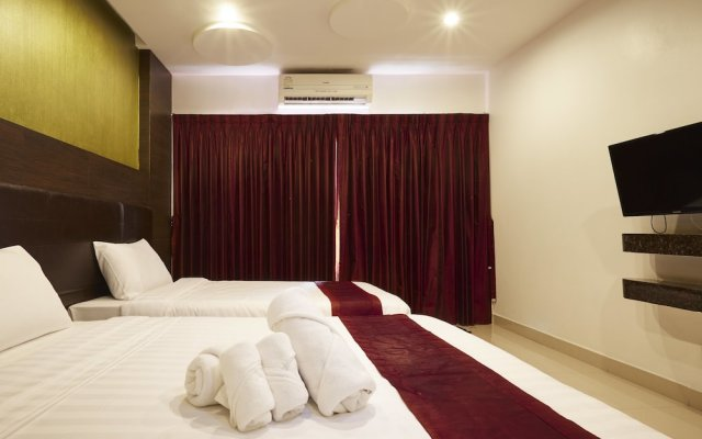 Tribe Hotel Pattaya комната для гостей