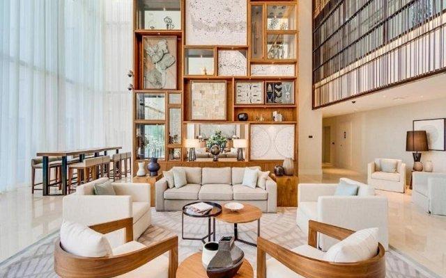 Отель Vida Residences Downtown Дубай интерьер отеля