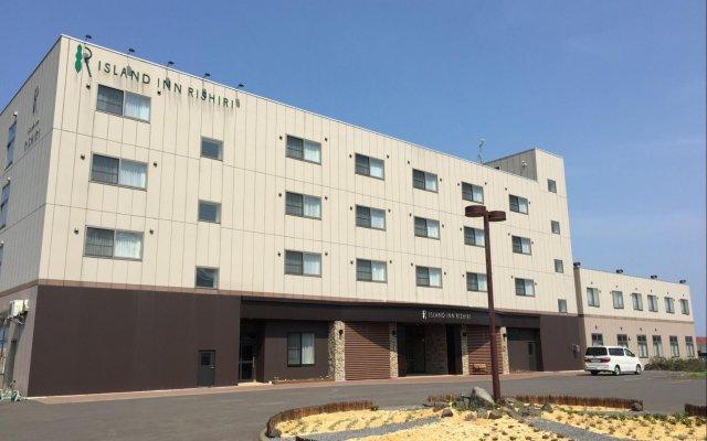 Отель Island Inn Rishiri Rebun вид на фасад