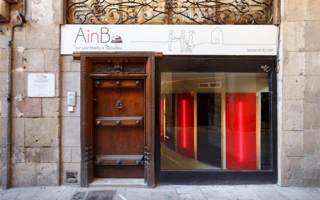 Отель AinB Picasso - Corders Испания, Барселона - отзывы, цены и фото номеров - забронировать отель AinB Picasso - Corders онлайн вид на фасад