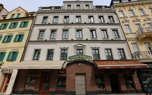 Hotel Renesance Krasna Kralovna вид на фасад