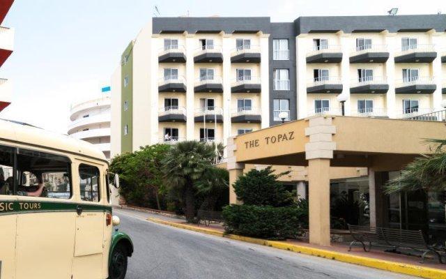 Апартаменты Topaz Apartments вид на фасад