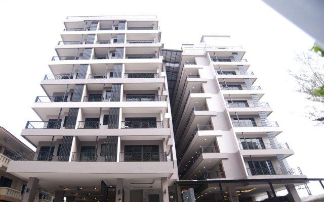 The Gig Hotel вид на фасад