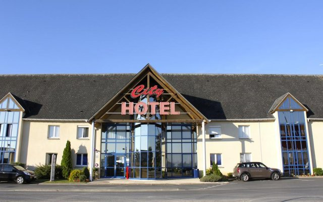 Hotel The Originals Beauvais City (ex Inter-Hotel) вид на фасад