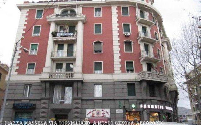 Отель Albergo Massena Италия, Генуя - отзывы, цены и фото номеров - забронировать отель Albergo Massena онлайн вид на фасад