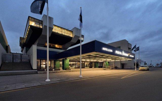 Отель Pirita Spa Таллин вид на фасад
