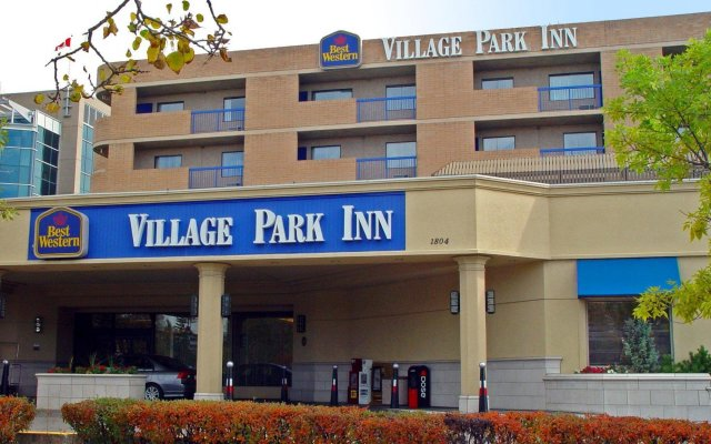 Отель Best Western Village Park Inn Канада, Калгари - отзывы, цены и фото номеров - забронировать отель Best Western Village Park Inn онлайн вид на фасад