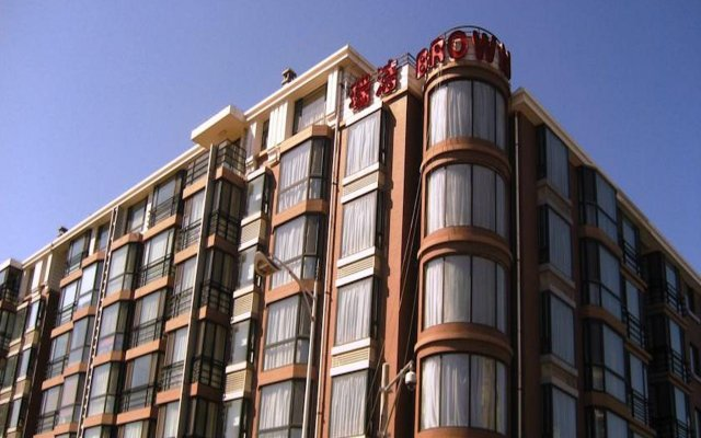 Отель Beijing RJ Brown Hotel Китай, Пекин - отзывы, цены и фото номеров - забронировать отель Beijing RJ Brown Hotel онлайн вид на фасад