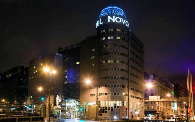 Отель Novotel Paris 14 Porte d'Orléans Франция, Париж - 3 отзыва об отеле, цены и фото номеров - забронировать отель Novotel Paris 14 Porte d'Orléans онлайн вид на фасад