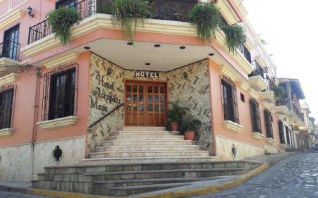 Отель Acropolis Maya Гондурас, Копан-Руинас - отзывы, цены и фото номеров - забронировать отель Acropolis Maya онлайн вид на фасад