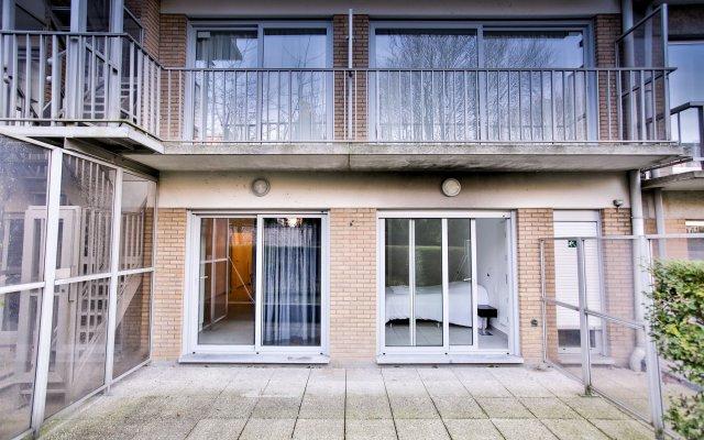 Апартаменты Renaissance Park Apartments Брюссель вид на фасад