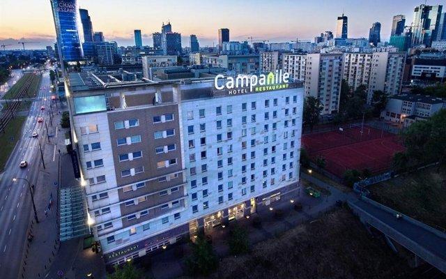 Отель Campanile - Warszawa Varsovie Польша, Варшава - - забронировать отель Campanile - Warszawa Varsovie, цены и фото номеров вид на фасад