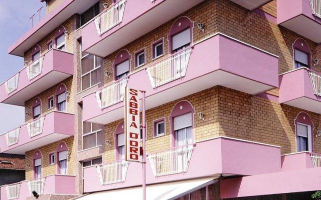 Отель Sabbia DOro Италия, Римини - отзывы, цены и фото номеров - забронировать отель Sabbia DOro онлайн вид на фасад