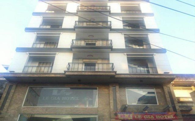 Le Gia Hotel вид на фасад