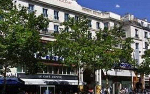 Best Western Hotel Ronceray Opera вид на фасад