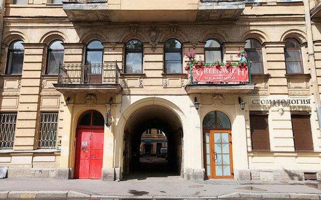 Гостиница Greenwich Yard в Санкт-Петербурге - забронировать гостиницу Greenwich Yard, цены и фото номеров Санкт-Петербург вид на фасад